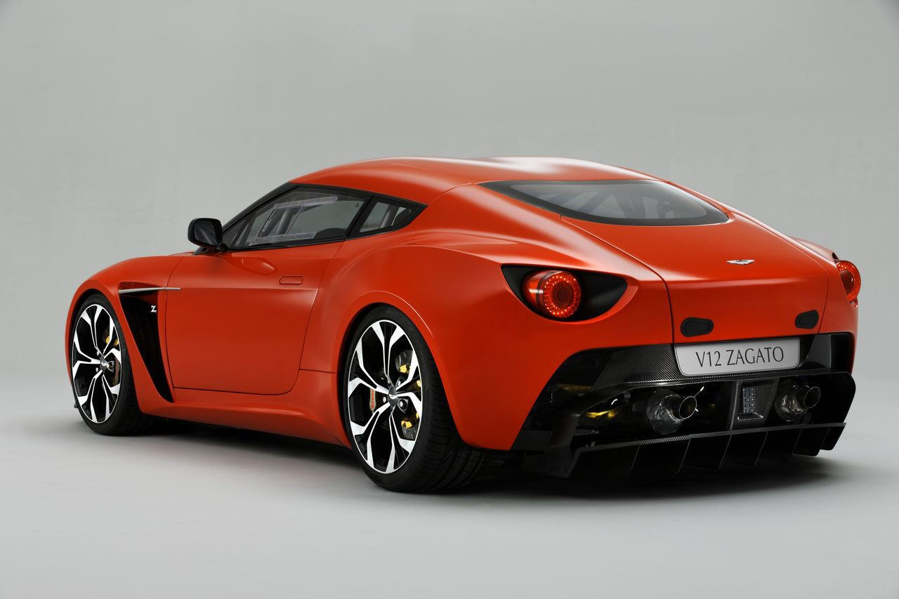 Tuning Aston Martin V12 Zagato Coupe 2012 Online