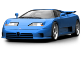 Bugatti EB110 Coupe 1992