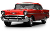 Chevrolet Bel Air Coupe 1957