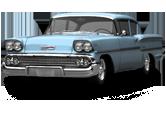Chevrolet Delray 2door Sedan Coupe 1958