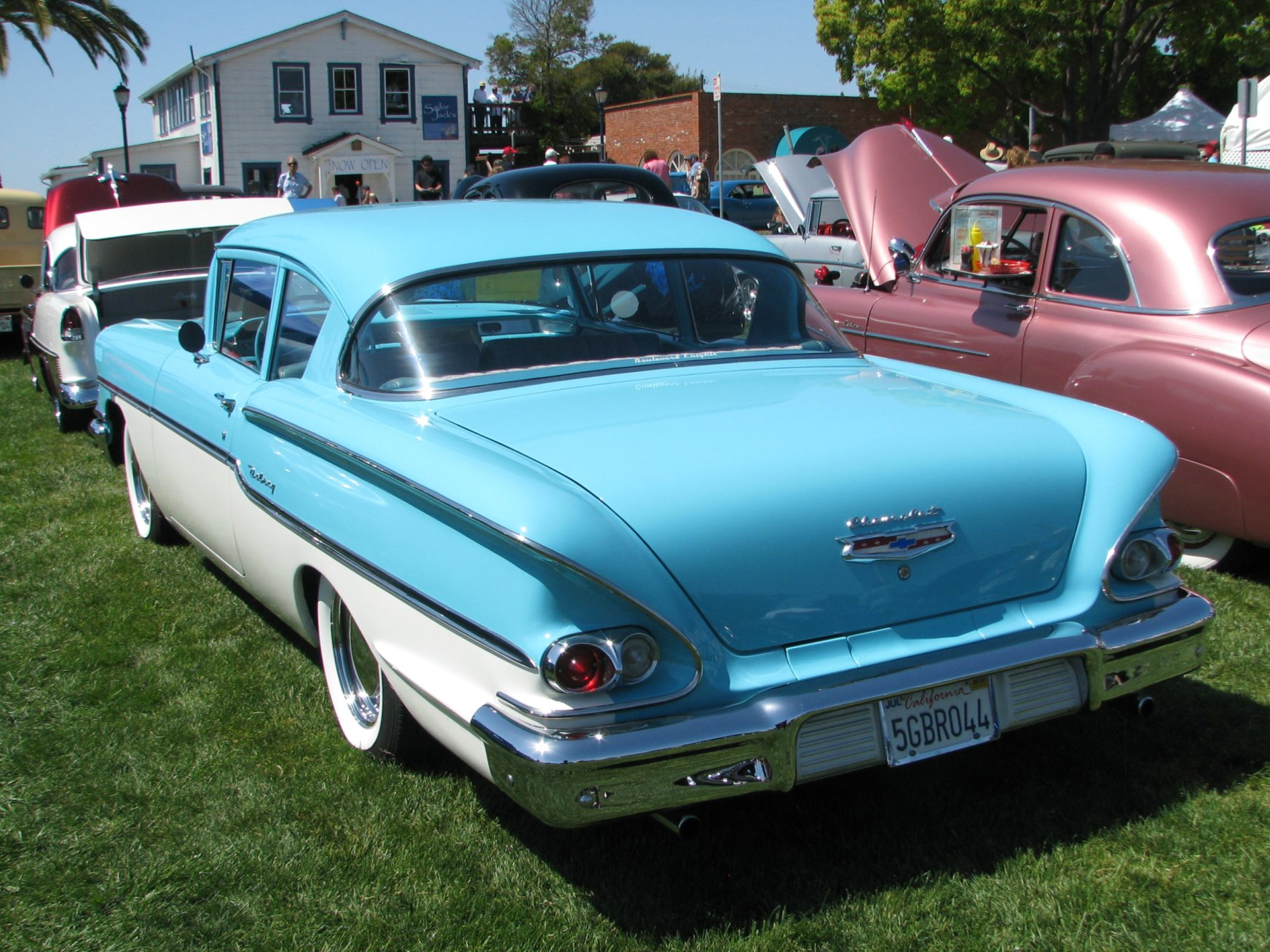 Chevrolet Delray 2door Sedan Coupe 1958