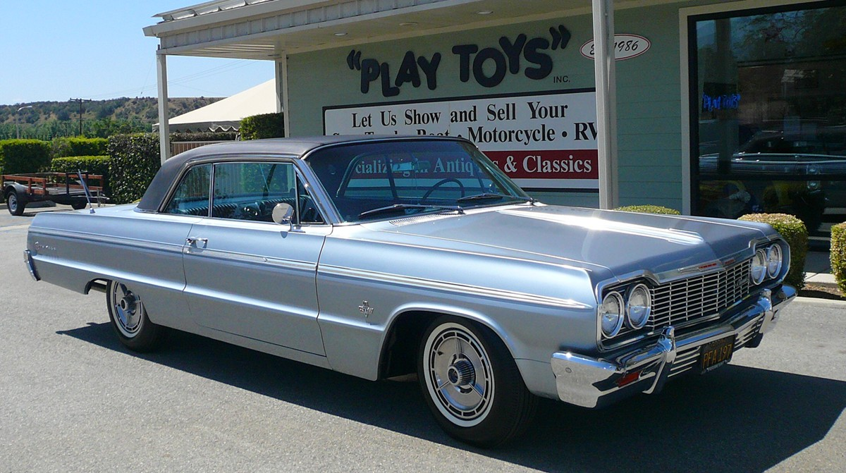 My Perfect Chevrolet Impala Ss 409 3dtuning Probably The Best Car 1964 Chevy Truck Paint Colors Coupe