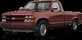 Chevrolet K1500 Regular Cab Fleetside Pickup 1988