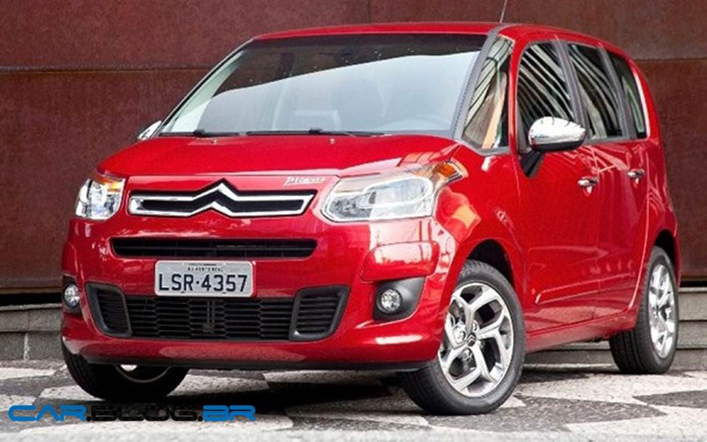 My Perfect Citroen C3 Picasso Facelift 3dtuning Probably The