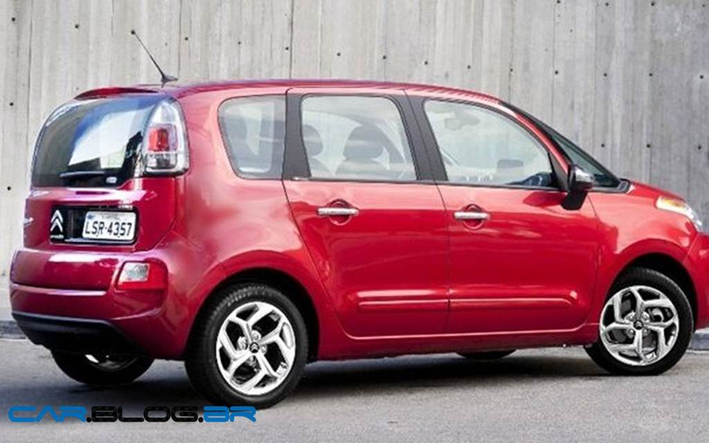 Citroen C3 Picasso (facelift) 5 Door 2013