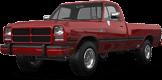 Dodge Ram 2 Door pickup truck 1991