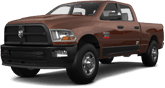 Dodge Ram 2500 4 Door Truck 2014