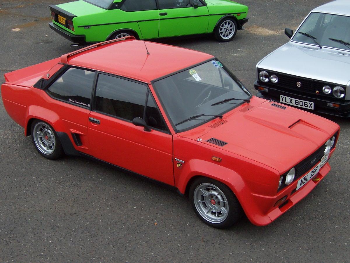 Тюнинг Fiat 131 Abarth Coupe 1976 фото тюнинга Фиат 131