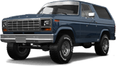 Ford Bronco 3 Door SUV 1980