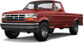 Ford F-150 Regular Cab 2 Door pickup truck 1992