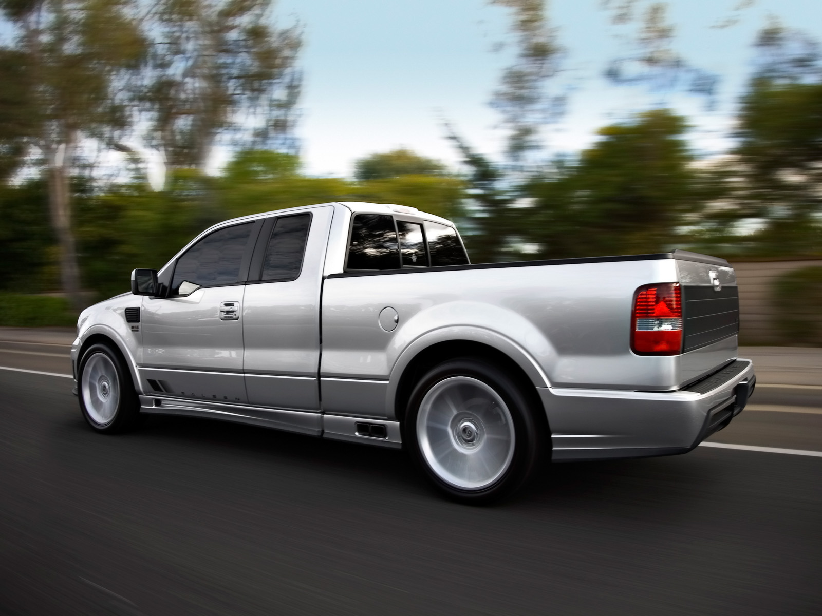 Ford f 150 saleen pickup 2010
