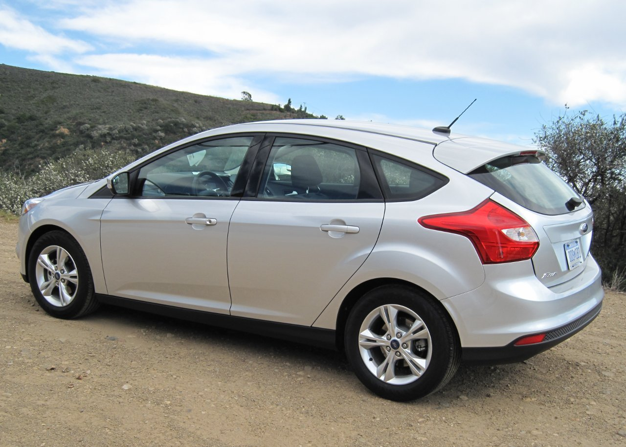 ford focus 5 door hatchback 2012 - Ford Focus 2012