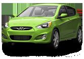 Hyundai Accent 5 Door Hatchback 2012