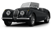 Jaguar XK120 Convertible 1954