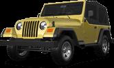 Jeep Wrangler TJ 2 Door SUV 1997