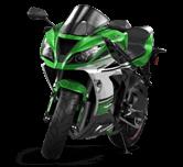 Kawasaki Ninja ZX 6R Sport Bike 2015