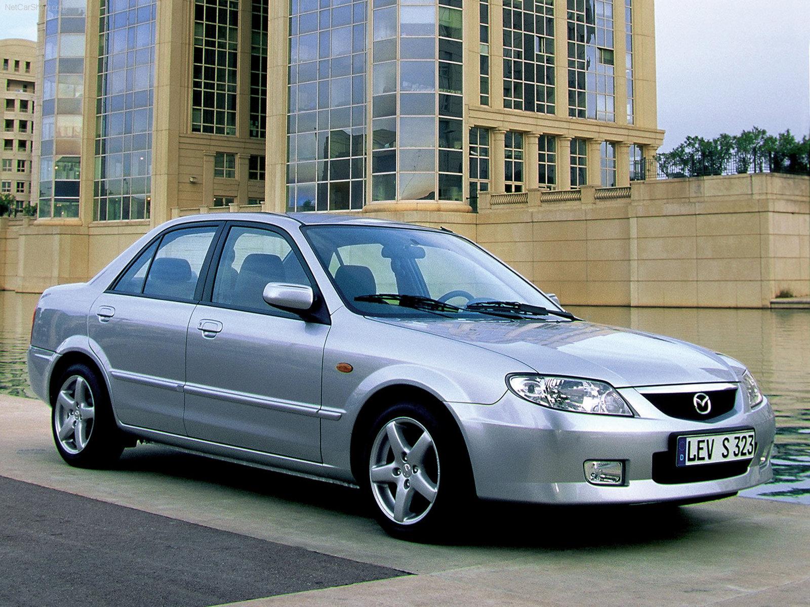 3dtuning of mazda familia sedan 2001 3dtuning - unique on-line