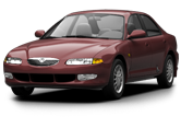 Mazda Xedos 6 sedan 1992