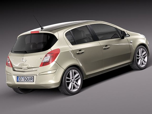 Opel Corsa D (facelift) 5 Door Hatchback 2010