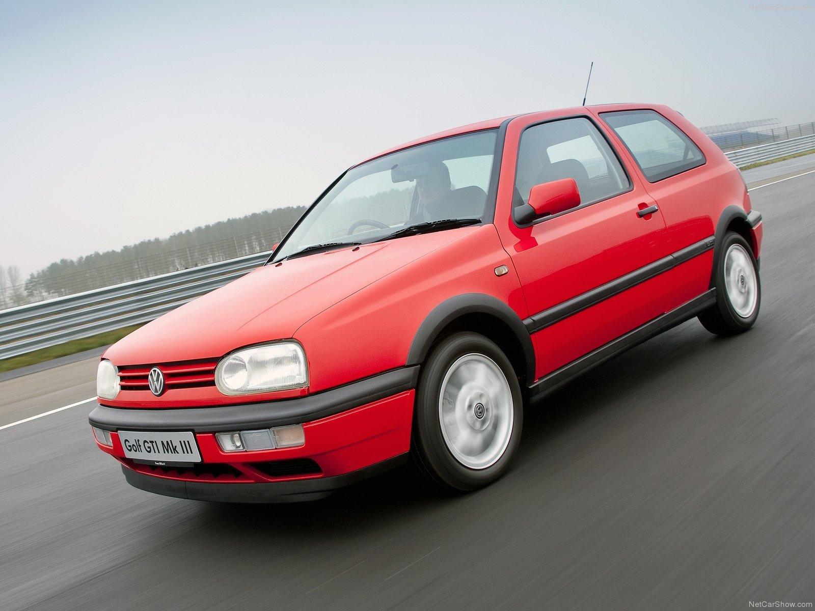 ... Volkswagen Golf 3 3 Door Hatchback 1991 ...