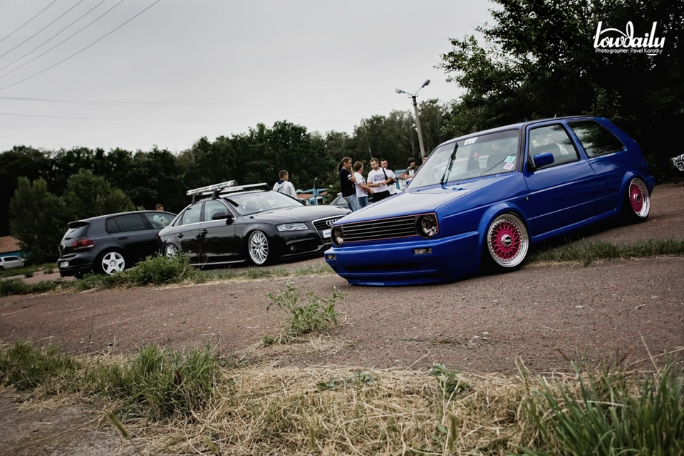 Inteligentny My perfect Volkswagen Golf 2 Gti. 3DTuning - probably the best car AY03